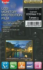 186431 KENKO LCD SCREEN PROTECTION FILM FOR CANON REBEL T3i NEW
