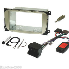 FK-876/1 FORD GALAXY MK3 2006 ON DOUBLE DIN FASCIA & STALK CONTROL FITTING KIT