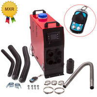2KW -5KW 12V Diesel Air Heater LCD Thermostat Remote Control Truck Bus Motorhome