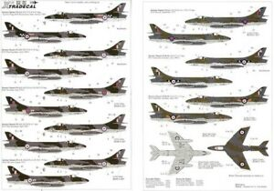 X48034 - NEW Xtradecal 1:48 Hawker Hunter FGA.9 / FR.10 Collection