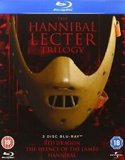 The Hannibal Lecter Trilogy - 3 Movie Collection (Blu-Ray, Box Set) *New&Sealed*