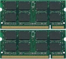 New! 2GB 2x1GB RAM Memory DDR2 Dell Latitude D810