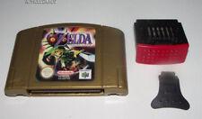 Zelda Majora's Mask Nintendo 64 N64 PAL with Expansion Pak and Puller