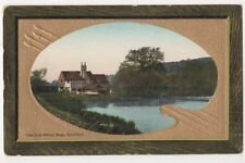 View from Albury Road Guildford Surrey Postcard, B683