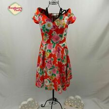 Hell Bunny Marguerita 50s Tropical Dress Retro Vintage Rockabilly Pin Up Plus