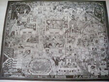 """British Empire Exhibition 1924 Wembley Map Poster Advertisement to frame? 8""""x6"""""""