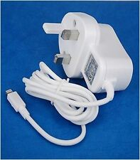 Mains Travel Charger for Apple iPhone 5S, 5,5C,ipad mini iPod Touch & Nano 7G