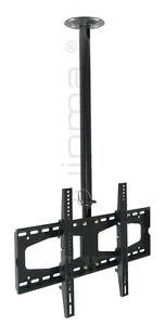 TV-Deckenhalterung, quipma 202, schwarz, 37-60 Zoll, bis VESA 600, 60kg
