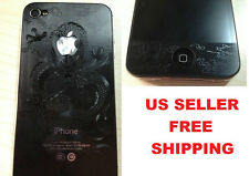 3D Iphone 5 Front & Back Full Body screen protector sticker Diamond Dragon Heart