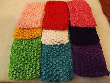 Wholesale18 pcs Girls Baby Crochet Headband With 6 inch Acrylic