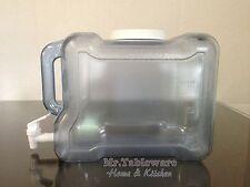BPA Free - 2 Gallon Fridge Plastic Water Bottle Dispenser Container (USA)