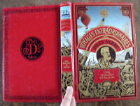 Ancien Livre Voyage extraordinaires 5 semaines en ballon