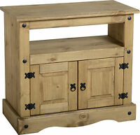 MEXICAN PINE CORONA TV / DVD / VIDEO UNIT CABINET STAND *FREE NEXT DAY DELIVERY