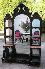 FANTASTIC VICTORIAN ROCOCO ROSEWOOD J H BELTER ETAGERE