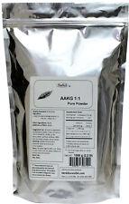 NuSci Pure AAKG 1:1 L-arginine alpha ketoglutarate Powder 1000g (2.2lb) energy
