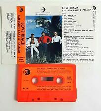 Emerson Lake & Palmer Love Beach Mc Cassette Tape Ricordi 1978