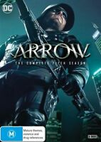 Arrow : Season 5 (DVD, 2017, 5-Disc Set)