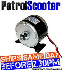 Elektromotor 24 Volt 280 Watt 11 Z 6mm Kette Kettenrad ZY MY 1016 E-Bike Roller