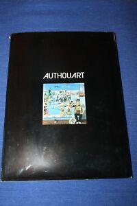 Authouart  - Lithographie numérotée et signée + dessin et dédicace