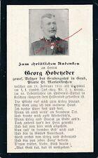Nr 11093 Sterbebild deathcard K.u.K.Landst. IR 2 1915 Kaschau Ungarn St.Marienk.