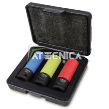 Set 3 bussole 1/2 per cerchi macchina Beta 720 LC/C3 rivestimento antigraffio