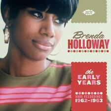 BRENDA HOLLOWAY The Early Years 1962-63 NEW & SEALED 60s SOUL CD (ACE) MOTOWN
