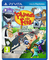Phineas and Ferb: Day of Doofenshmirtz [Sony PlayStation Vita PSV, Region Free]
