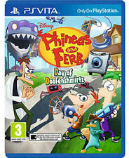 Phineas and Ferb: Day of Doofensmirtz [Sony PlayStation Vita PSV, Region Free]