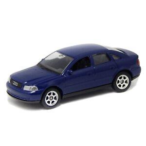 """1998 Audi A4 Sedan B5 Blue Welly 1:60 1:64 52052 3"""" inch Toy Car Model Rare"""