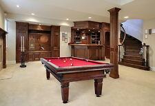 Billardtisch DIJON STYLE 8 ft  Billard Pool Tisch- und Tuchfarbe frei wählbar!