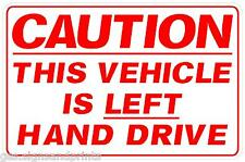 Red a4app main gauche signe Autocollant De Voiture Camper poids lourds voiture américaine