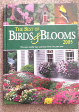 NEW BOOK: THE BEST OF BIRDS & BLOOMS 2005 +FREE $10 GIFT w/ $19.98 order!