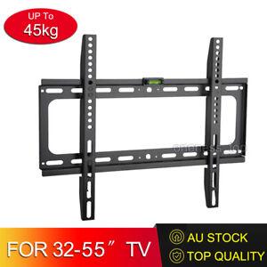 TV Wall Bracket Mount LCD LED Plasma Flat Slim 32 35 40 42 46 47 50 52 55''