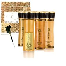 Keratin Cure Best STRONG Hair Treatment Gold & Honey V2 LGEL 5oz Kit Dry Frizzy