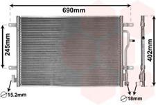 Kondensator, Klimaanlage für Klimaanlage VAN WEZEL 03005199