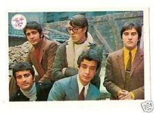 Los Sirex -  1969 Pop Rock Music Card from Spain