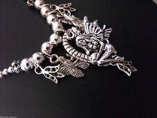 Fairytale Fantasy Round Charm Costume Necklaces & Pendants