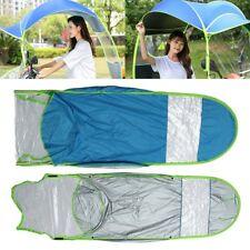 Schirm Sonnenschirm Regenschirm für Elektromobil Elektro Roller E-Scooter Blau