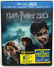 New Harry Potter Deathly Hallows 1 Best Buy Lenticular 3D/Blu-Ray/DVD/Digital