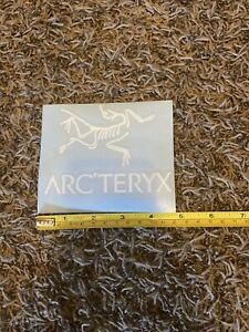 Arc Teryx Arcteryx Sticker Decal White 5""