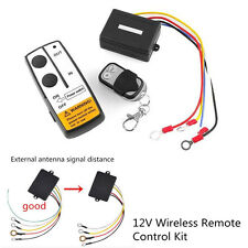 12V 12 Volt Wireless Remote Control Kit For ATV Car Truck Winch With Key Remote
