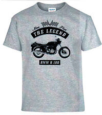 T-shirt, bmw r 100, Bike, motocicleta, Youngtimer, Oldtimer