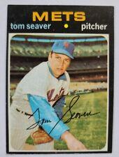 Tom Seaver 41 New York Mets Baseball Card Pitcher 1970 MLB 160
