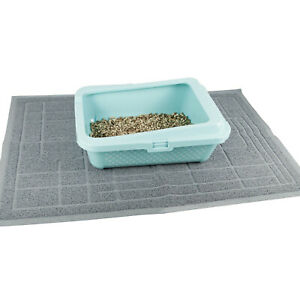 Cat Litter Mat Large Tray Anti-Tracking Pet Floor Protect Kitten Dog Non-Slip