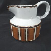 Midwinter Stonehenge EARTH Creamer Brown Stripe England Discontinued