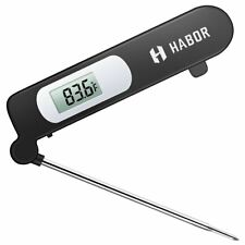 Habor Instant Read Meat Thermometer, Accurate Cooking Thermometer Electronic
