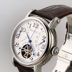 Original SeaGull M171S Automatic Classic Flywheel Watch Retrograde Month Date