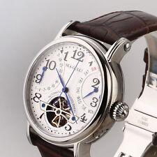 Original SeaGull M171S Automatic Classic Flywheel Watch Retrograde Month Date