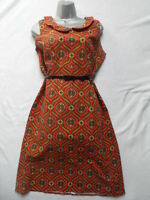 VINTAGE 1960s/70s FLORAL PAISLEY DRESS - MOD /SCOOTER / DOLLY BIRD / RETRO