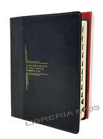 BIBLIA DE ESTUDIO DEL DIARIO VIVIR LETRA GRANDE REINA VALERA 1960 NEGRO INDICE